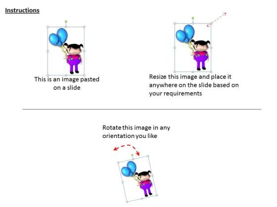 stock_photo_3d_cute_girl_with_balloons_happiness_powerpoint_slide_2