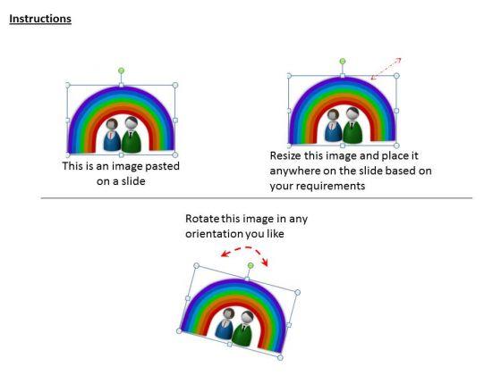 stock_photo_3d_design_of_rainbow_powerpoint_template_2