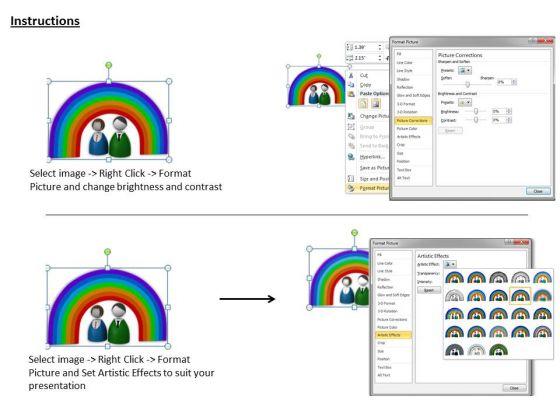 stock_photo_3d_design_of_rainbow_powerpoint_template_3