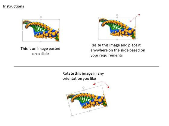 stock_photo_3d_dna_structure_with_green_and_yellow_color_powerpoint_slide_2