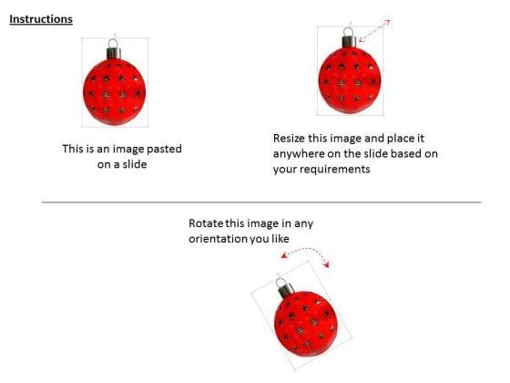 stock_photo_3d_red_stars_christmas_ball_powerpoint_slide_2