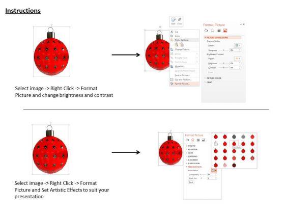 stock_photo_3d_red_stars_christmas_ball_powerpoint_slide_3