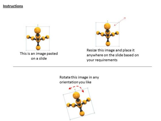 stock_photo_3d_scientific_illustration_with_molecular_structure_ppt_template_2