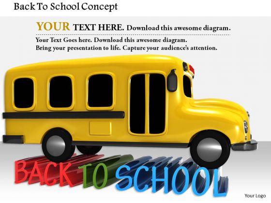 Stock Photo Back To School Concept PowerPoint Slide