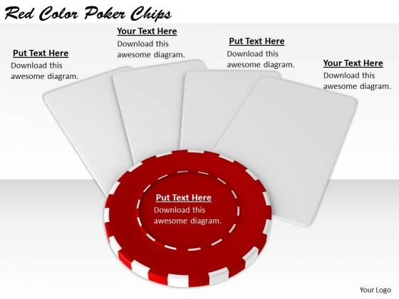 Stock Photo Basic Marketing Concepts Red Color Poker Chips Stock Photo Business Images