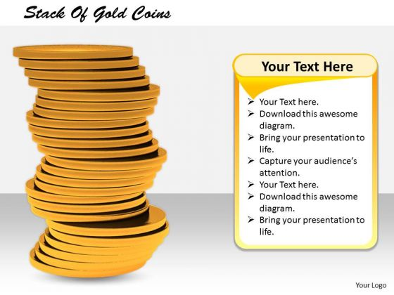 Stock Photo Basic Marketing Concepts Stack Of Gold Coins Business Photos