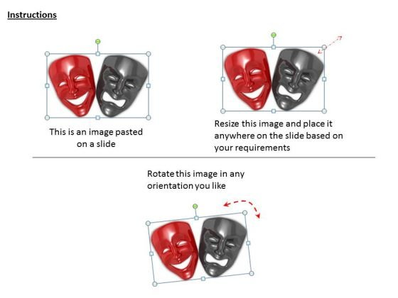 stock_photo_black_and_red_face_masks_powerpoint_template_2