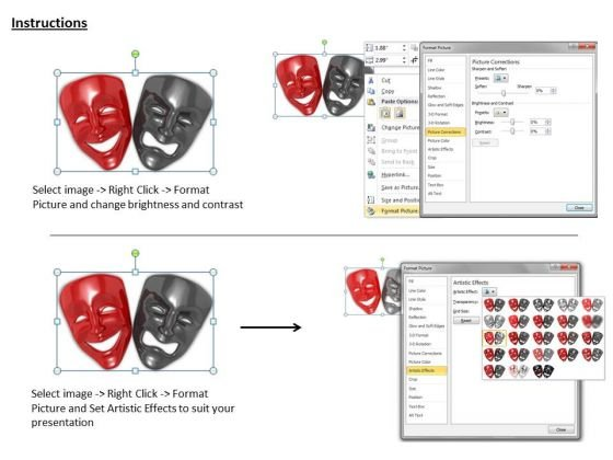 stock_photo_black_and_red_face_masks_powerpoint_template_3