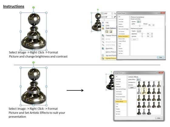 stock_photo_black_shiny_chess_pawn_powerpoint_template_3