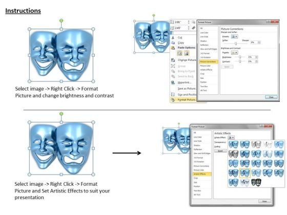 stock_photo_blue_colored_mask_graphic_powerpoint_template_3