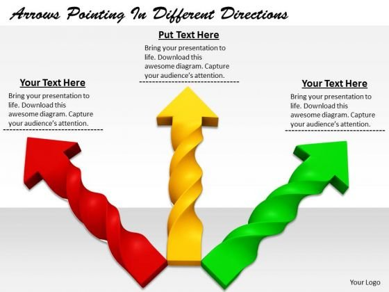 Stock Photo Business And Strategy Arrows Pointing Different Directions Images Photos