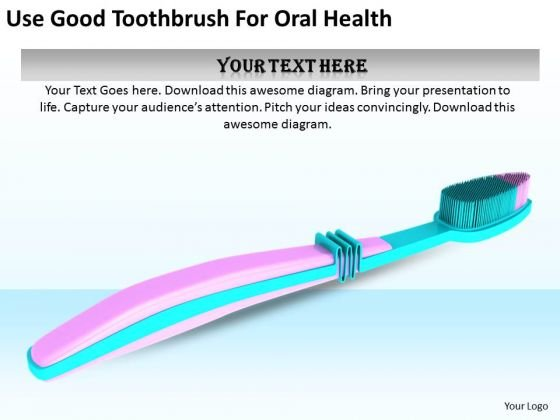 Stock Photo Business Development Strategy Template Use Good Toothbrush For Oral Health Pictures