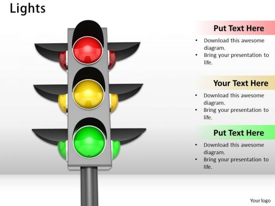 Stock Photo Business Development Strategy Use Traffic Light Symbols Success Images