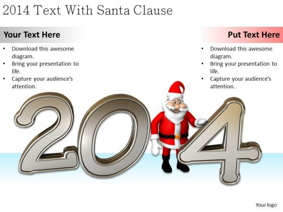Stock Photo Business Expansion Strategy 2014 Text With Santa Clause Pictures