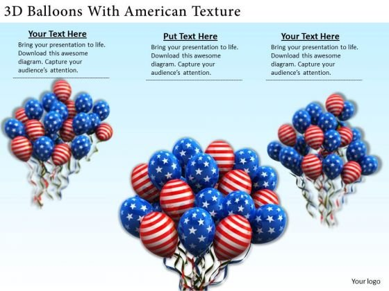Stock Photo Business Expansion Strategy 3d Balloons With American Texture Pictures