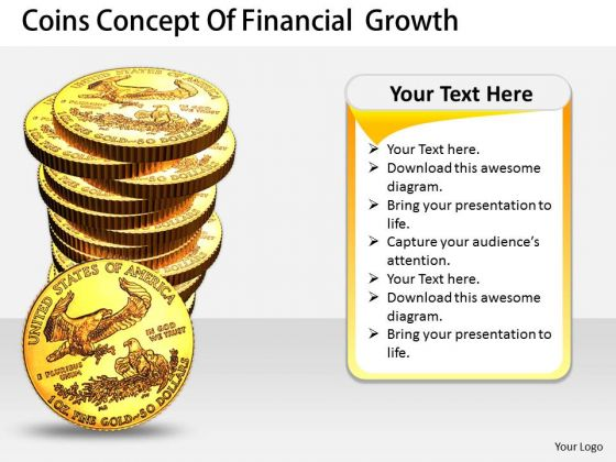 Stock Photo Business Growth Strategy Coins Concept Of Financial Pictures Images