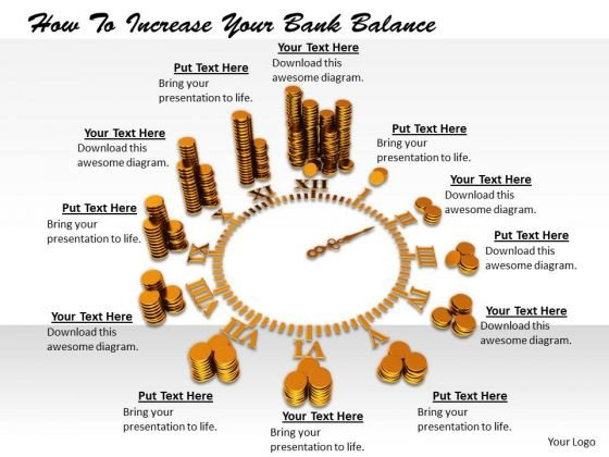 Stock Photo Business Growth Strategy How To Increase Your Bank Balance Image