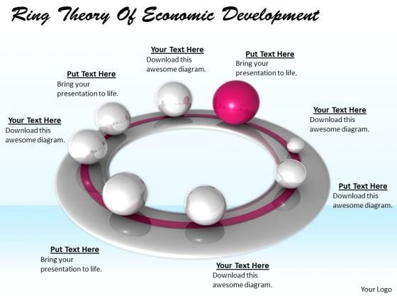 Stock Photo Business Growth Strategy Ring Theory Of Economic Development Clipart