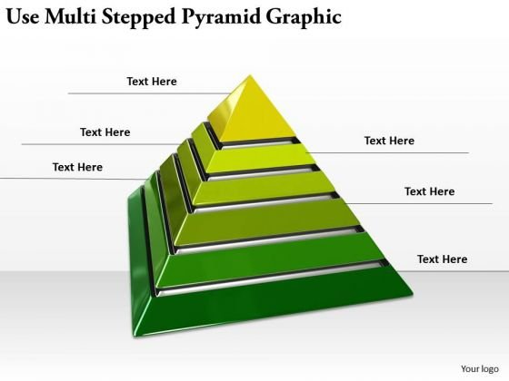 Stock Photo Business Growth Strategy Use Multi Stepped Pyramid Graphic Images Photos