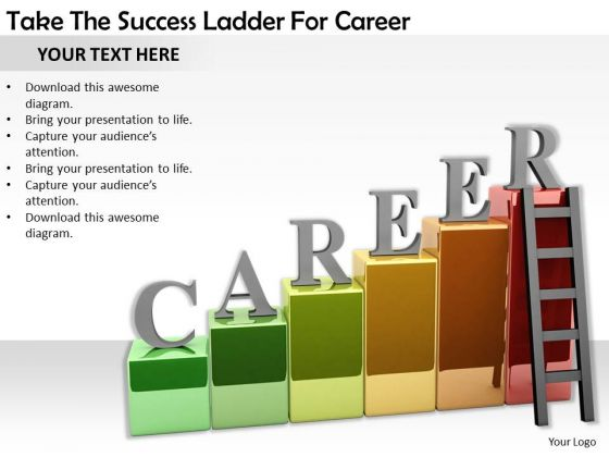 Stock Photo Business Integration Strategy Take The Success Ladder For Career Pictures