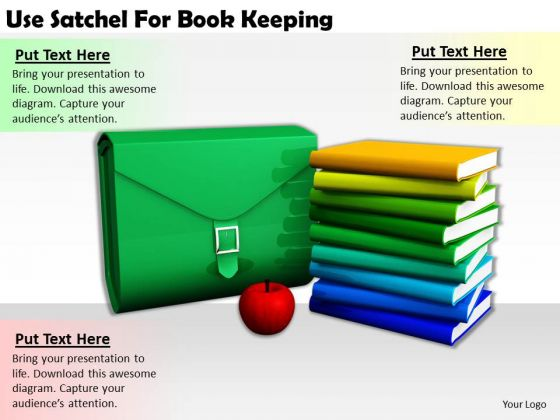 Stock Photo Business Intelligence Strategy Use Satchel For Book Keeping Images