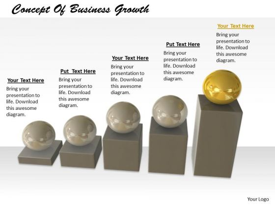 Stock Photo Business Level Strategy Concept Of Growth Icons