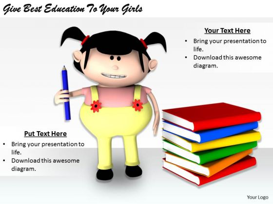 Stock Photo Business Management Strategy Give Best Education To Your Girls Clipart