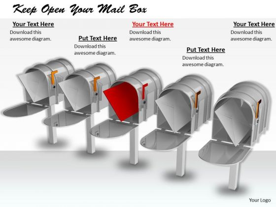Stock Photo Business Management Strategy Keep Open Your Mail Box Pictures