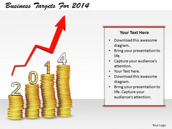 Stock Photo Business Management Strategy Targets For 2014 Image