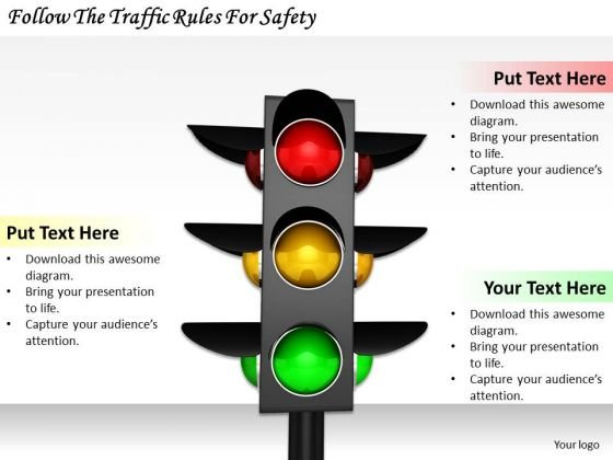 Stock Photo Business Marketing Strategy Follow The Traffic Rules For Safety Clipart
