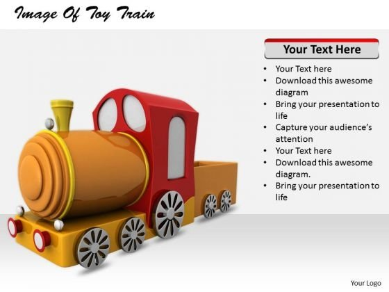 Stock Photo Business Marketing Strategy Image Of Toy Train Pictures