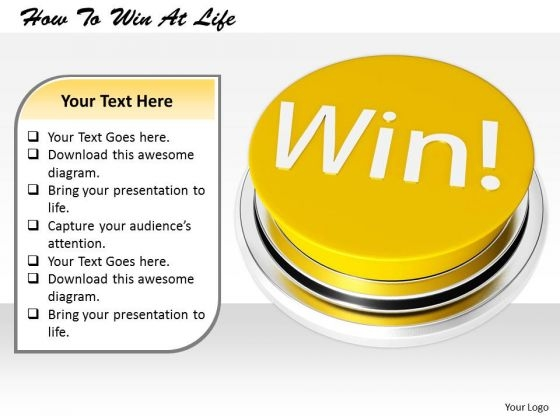 Stock Photo Business Model Strategy How To Win Life Clipart