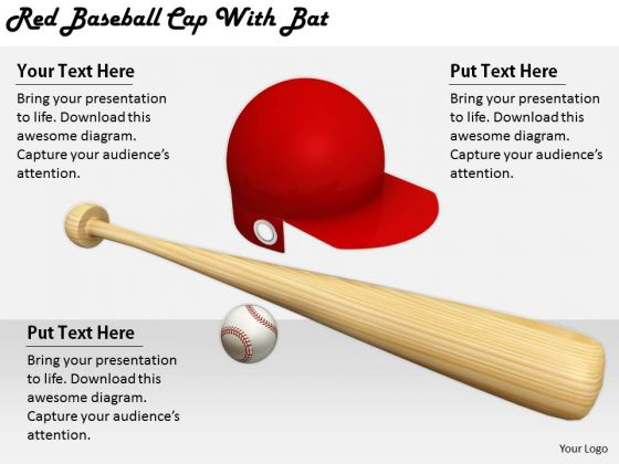 Stock Photo Business Model Strategy Red Baseball Cap With Bat Stock Photo Images And Graphics