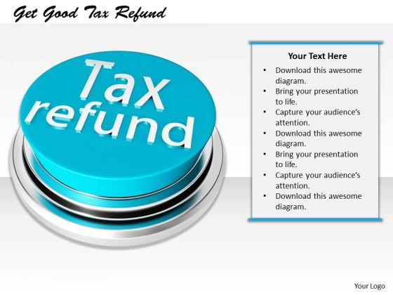 Stock Photo Business Plan And Strategy Get Good Tax Refund Clipart