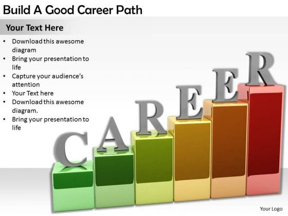 Stock Photo Business Plan Strategy Build Good Career Path Images