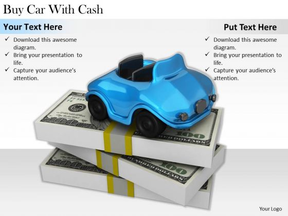 Stock Photo Business Plan Strategy Buy Car With Cash Images