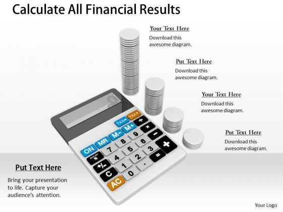 Stock Photo Business Planning Strategy Calculate All Financial Results Success Images