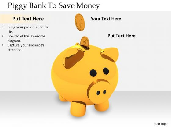 Stock Photo Business Planning Strategy Piggy Bank To Save Money Best