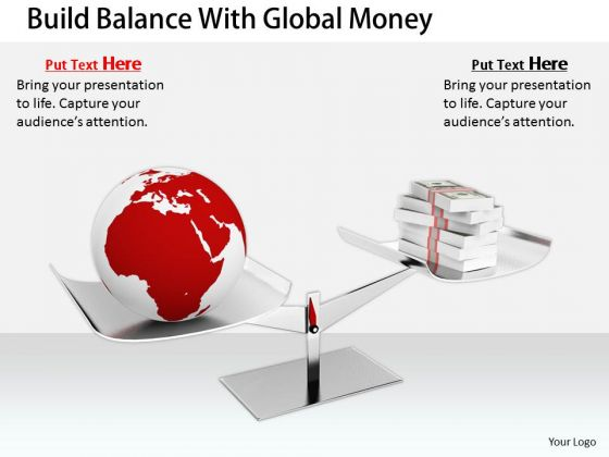 Stock Photo Business Policy And Strategy Build Balance With Global Money Stock Images