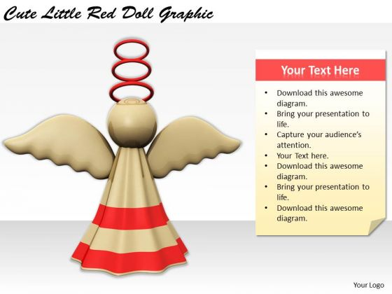 Stock Photo Business Policy And Strategy Cute Little Red Doll Graphic Photos