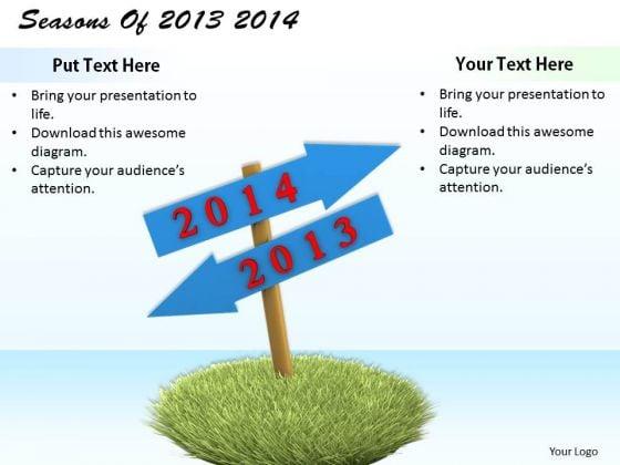 Stock Photo Business Process Strategy Seasons Of 2013 2014 Image