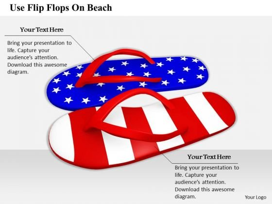 Stock Photo Business Process Strategy Use Flip Flops On Beach Images