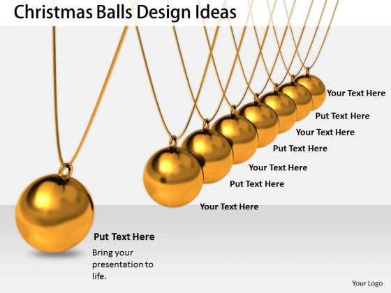 Stock Photo Business Strategy Concepts Christmas Balls Design Ideas Icons Images