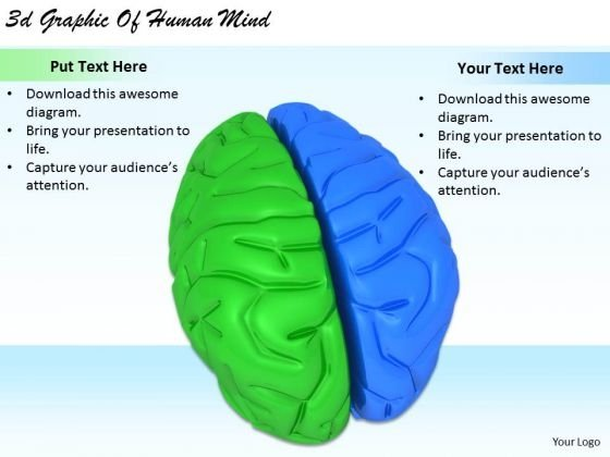 Stock Photo Business Strategy Consultants 3d Graphic Of Human Mind Icons Images