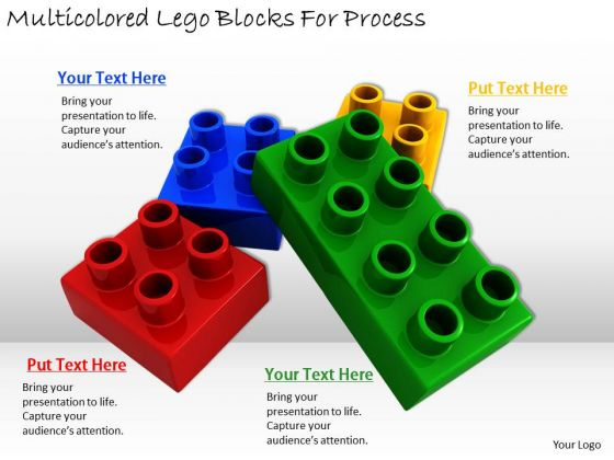 Stock Photo Business Strategy Development Multicolored Lego Blocks For Process Photos
