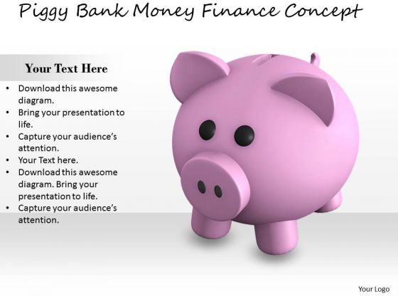 Stock Photo Business Strategy Development Piggy Bank Money Finance Concept Images