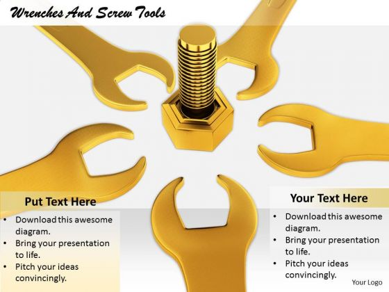 Stock Photo Business Strategy Examples Wrenches And Screw Tools Images