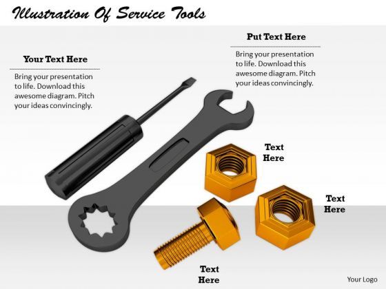 Stock Photo Business Strategy Execution Illustration Of Service Tools Clipart Images