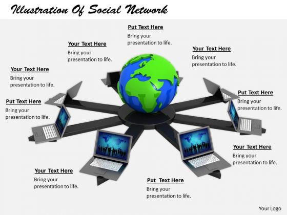 Stock Photo Business Strategy Execution Illustration Of Social Network Clipart Images