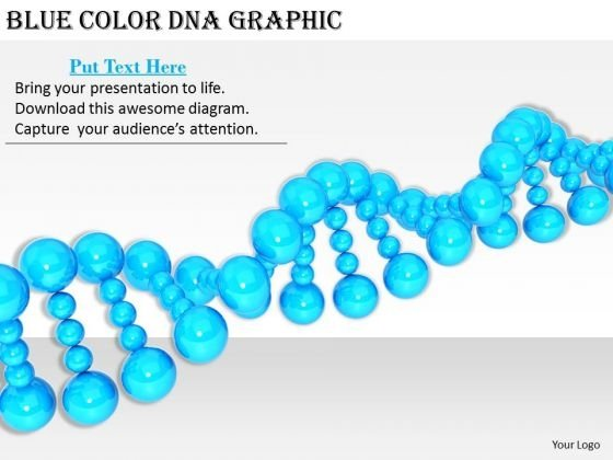 Stock Photo Business Strategy Formulation Blue Color Dna Graphic Image